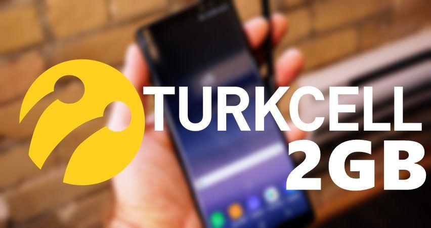 Turkcell Yaani 2 GB Bedava İnternet Kampanyası