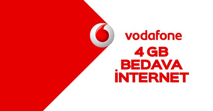 Vodofone Bedava İnternet akbank fav Kampanyası
